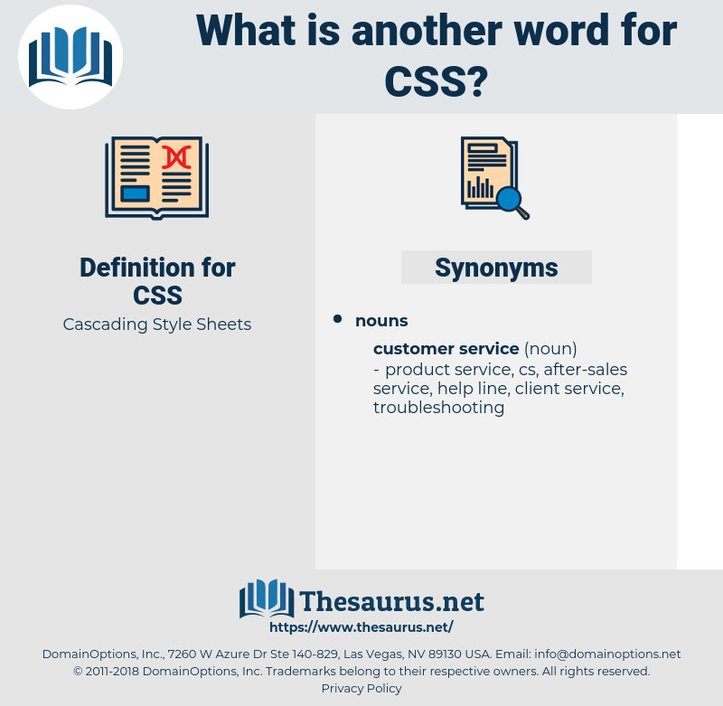 CSS, synonym CSS, another word for CSS, words like CSS, thesaurus CSS