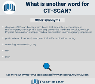 CT-SCAN, synonym CT-SCAN, another word for CT-SCAN, words like CT-SCAN, thesaurus CT-SCAN