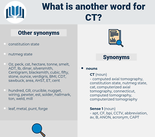 ct, synonym ct, another word for ct, words like ct, thesaurus ct
