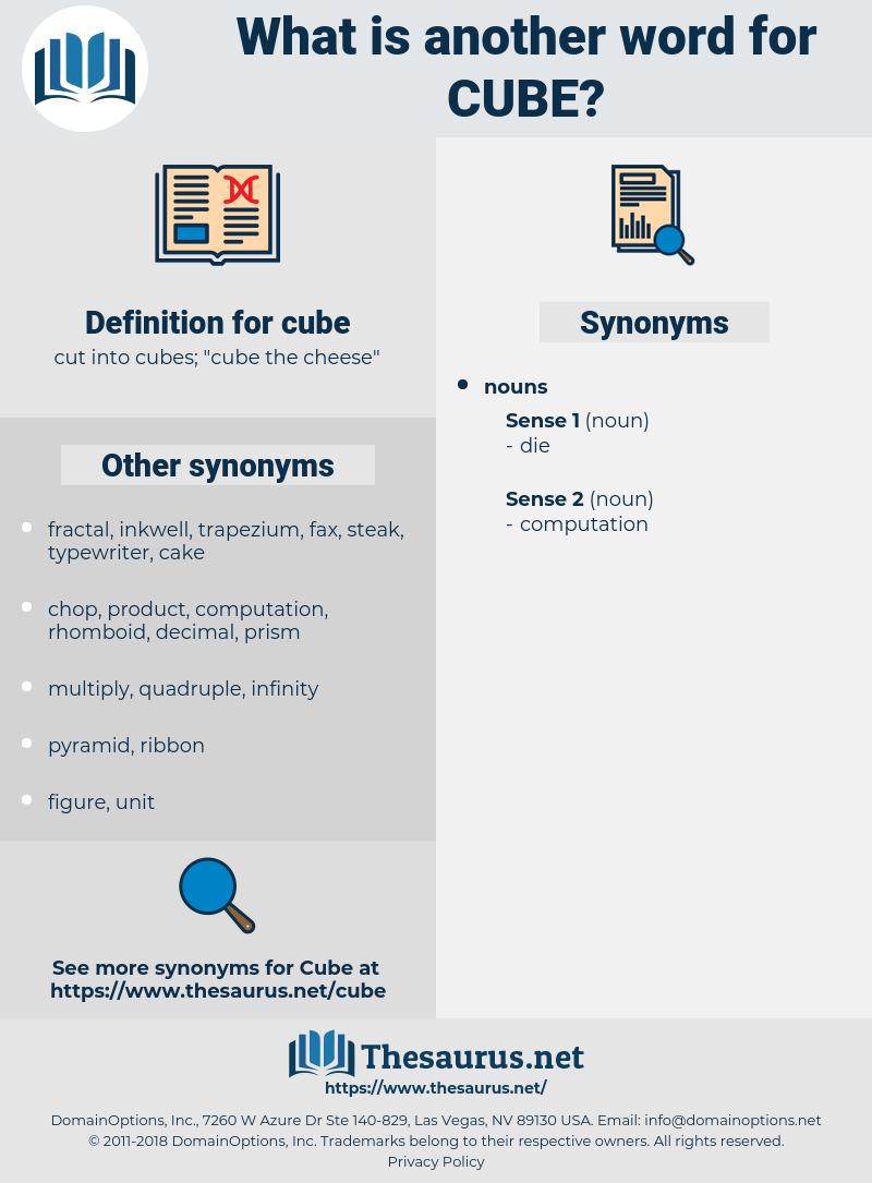 cube, synonym cube, another word for cube, words like cube, thesaurus cube