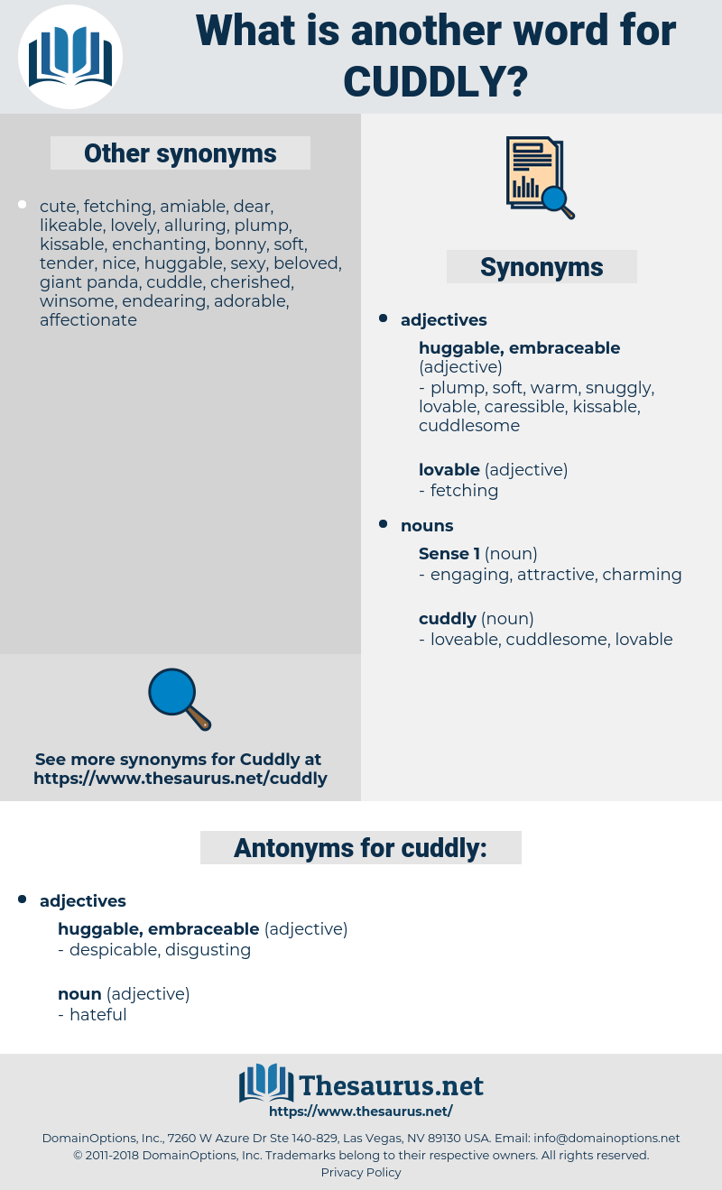 Synonyms For Cuddly Antonyms For Cuddly Thesaurus Net