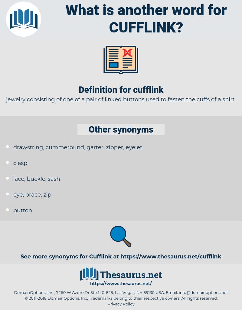 cufflink, synonym cufflink, another word for cufflink, words like cufflink, thesaurus cufflink