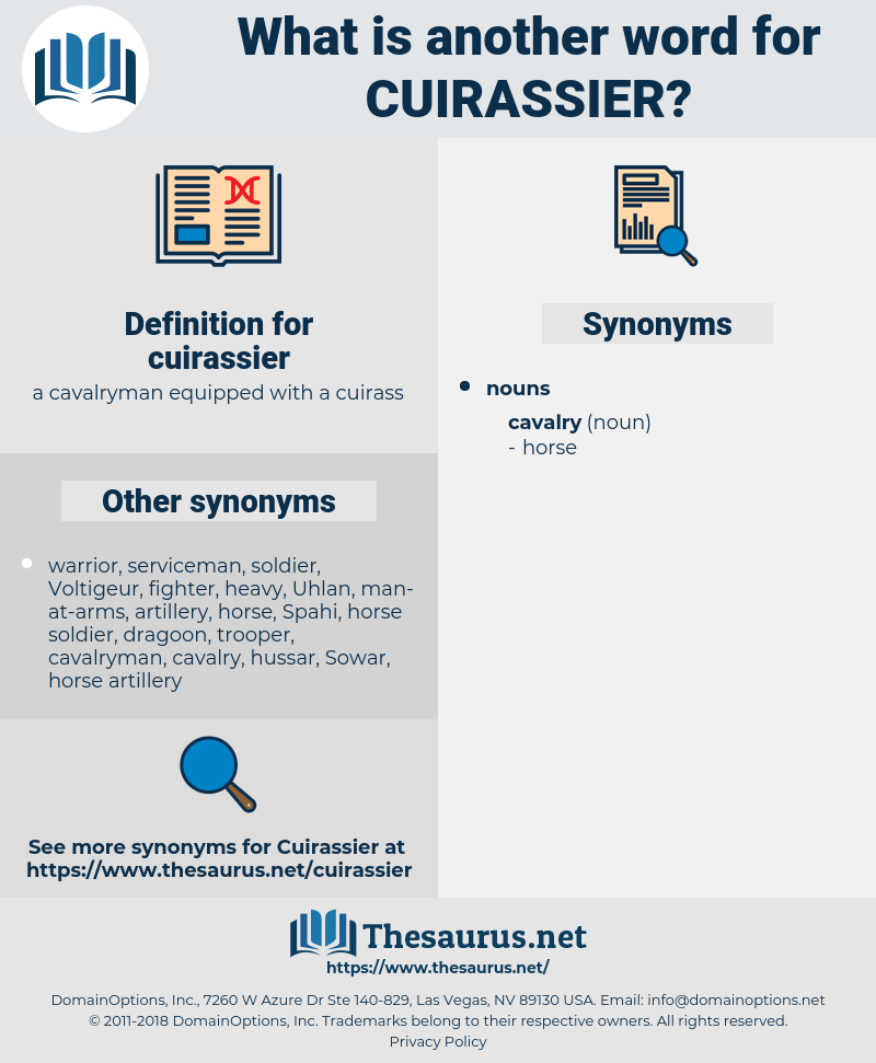cuirassier, synonym cuirassier, another word for cuirassier, words like cuirassier, thesaurus cuirassier