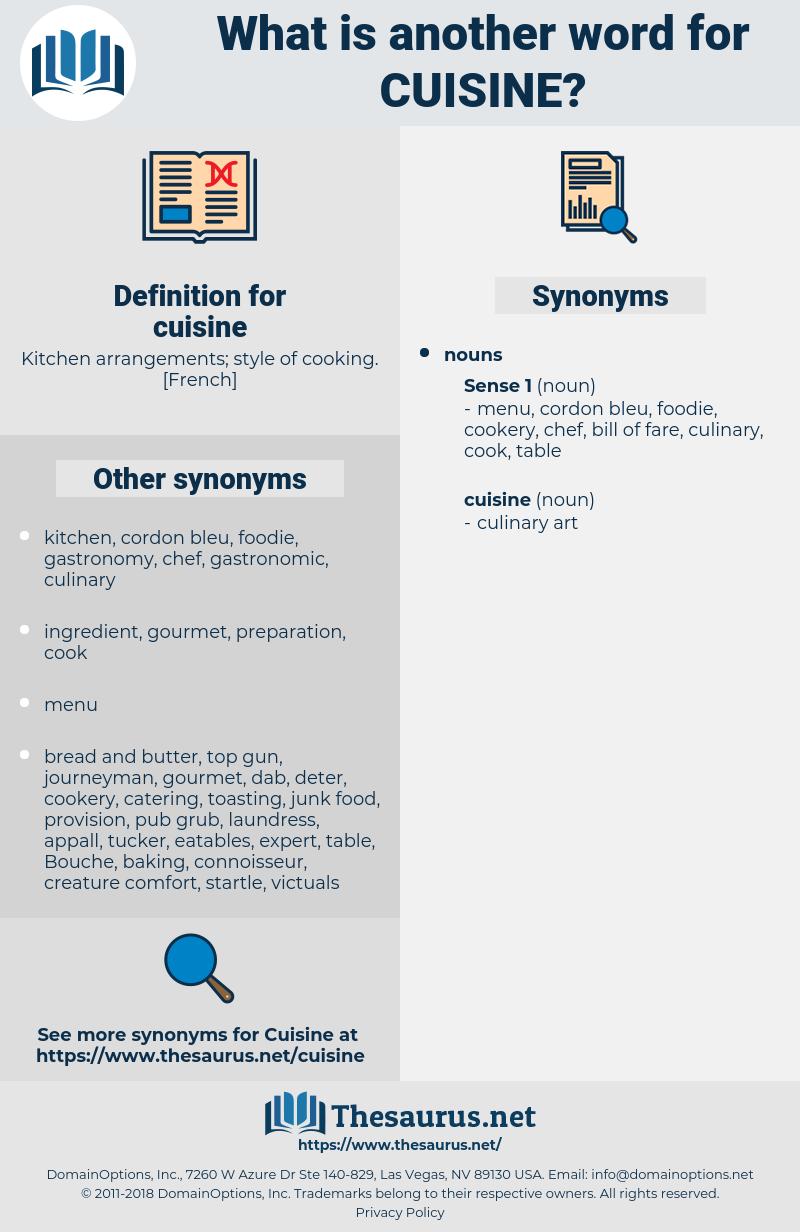 cuisine, synonym cuisine, another word for cuisine, words like cuisine, thesaurus cuisine
