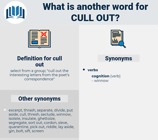 cull out, synonym cull out, another word for cull out, words like cull out, thesaurus cull out