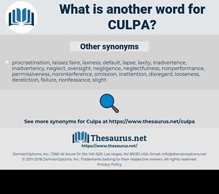 Culpa, synonym Culpa, another word for Culpa, words like Culpa, thesaurus Culpa