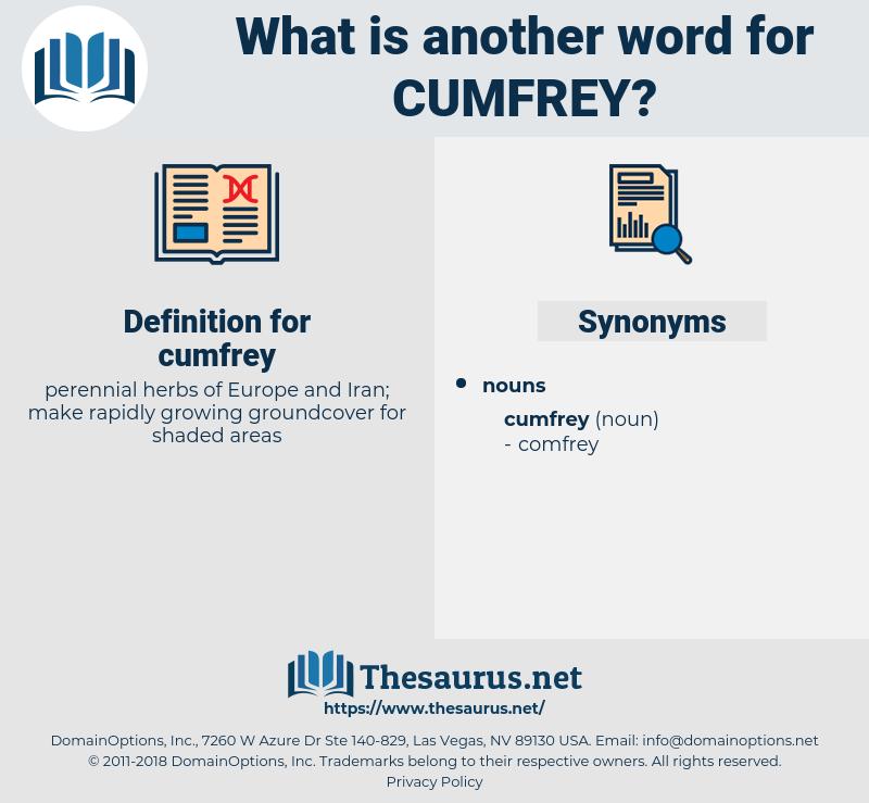 cumfrey, synonym cumfrey, another word for cumfrey, words like cumfrey, thesaurus cumfrey