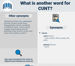 cunt, synonym cunt, another word for cunt, words like cunt, thesaurus cunt