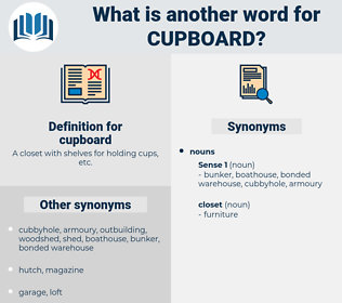 cupboard, synonym cupboard, another word for cupboard, words like cupboard, thesaurus cupboard