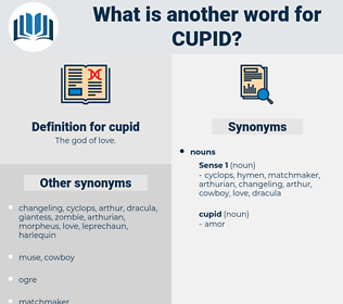 cupid, synonym cupid, another word for cupid, words like cupid, thesaurus cupid