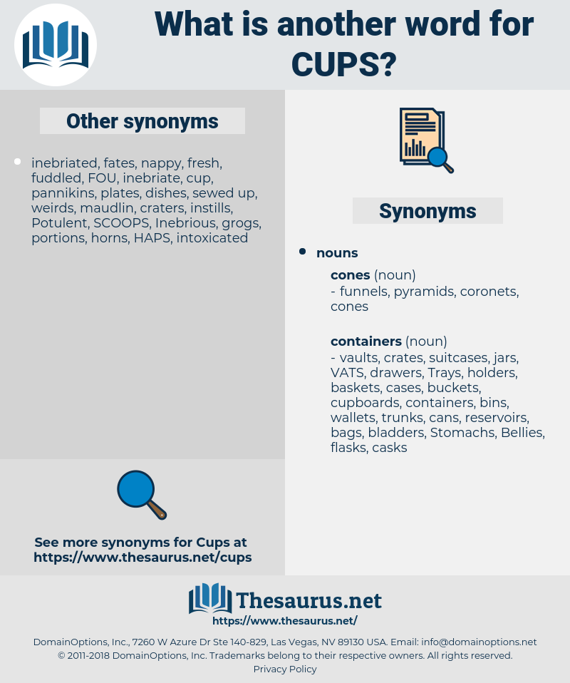 cups, synonym cups, another word for cups, words like cups, thesaurus cups