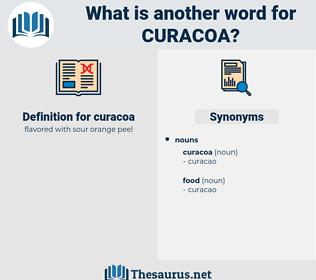 curacoa, synonym curacoa, another word for curacoa, words like curacoa, thesaurus curacoa