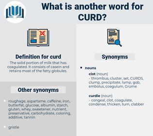 curd, synonym curd, another word for curd, words like curd, thesaurus curd