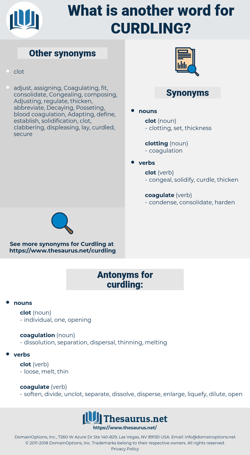 curdling, synonym curdling, another word for curdling, words like curdling, thesaurus curdling