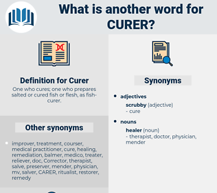 Curer, synonym Curer, another word for Curer, words like Curer, thesaurus Curer