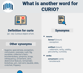 curio, synonym curio, another word for curio, words like curio, thesaurus curio