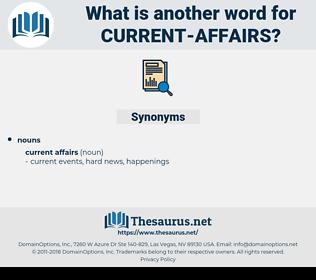 current affairs, synonym current affairs, another word for current affairs, words like current affairs, thesaurus current affairs
