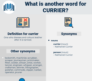 currier, synonym currier, another word for currier, words like currier, thesaurus currier