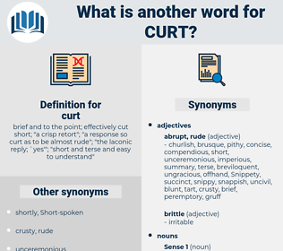 curt, synonym curt, another word for curt, words like curt, thesaurus curt