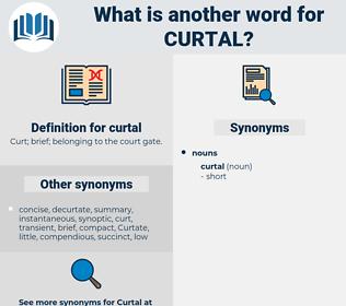 curtal, synonym curtal, another word for curtal, words like curtal, thesaurus curtal