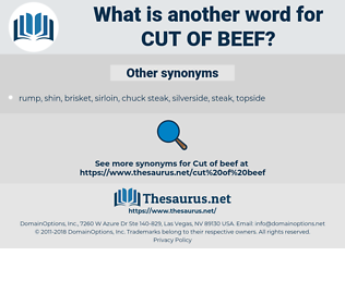 cut of beef, synonym cut of beef, another word for cut of beef, words like cut of beef, thesaurus cut of beef