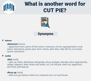 cut pie, synonym cut pie, another word for cut pie, words like cut pie, thesaurus cut pie