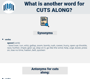 cuts along, synonym cuts along, another word for cuts along, words like cuts along, thesaurus cuts along