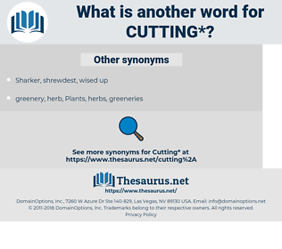 cutting, synonym cutting, another word for cutting, words like cutting, thesaurus cutting