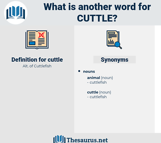 cuttle, synonym cuttle, another word for cuttle, words like cuttle, thesaurus cuttle