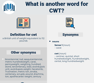 cwt, synonym cwt, another word for cwt, words like cwt, thesaurus cwt