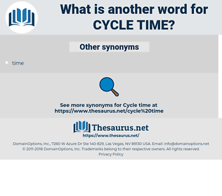 cycle time, synonym cycle time, another word for cycle time, words like cycle time, thesaurus cycle time