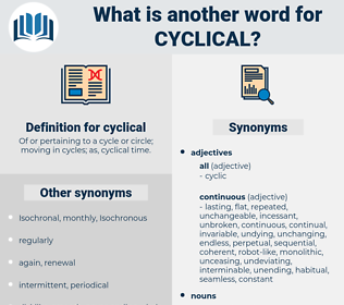 cyclical, synonym cyclical, another word for cyclical, words like cyclical, thesaurus cyclical