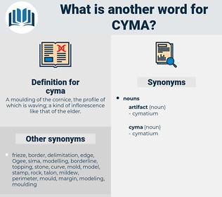 cyma, synonym cyma, another word for cyma, words like cyma, thesaurus cyma