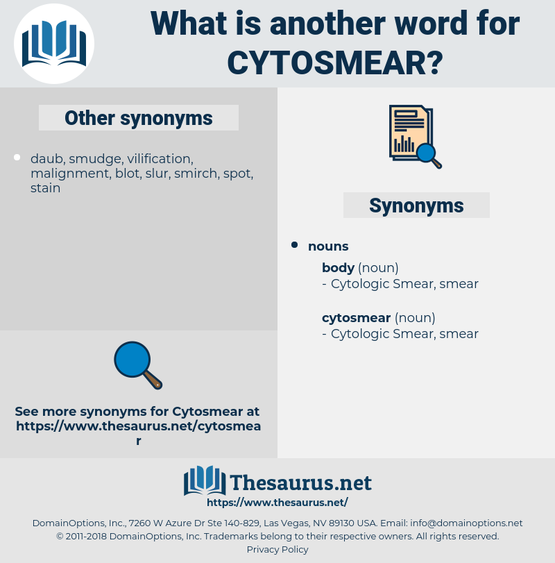 cytosmear, synonym cytosmear, another word for cytosmear, words like cytosmear, thesaurus cytosmear
