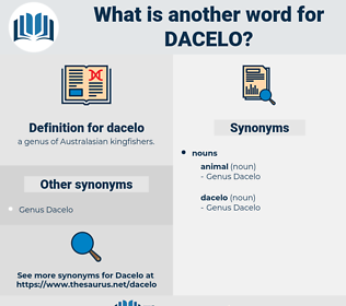 dacelo, synonym dacelo, another word for dacelo, words like dacelo, thesaurus dacelo