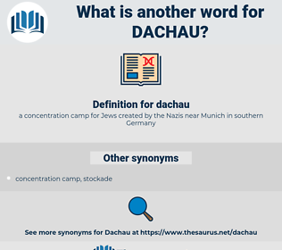 dachau, synonym dachau, another word for dachau, words like dachau, thesaurus dachau