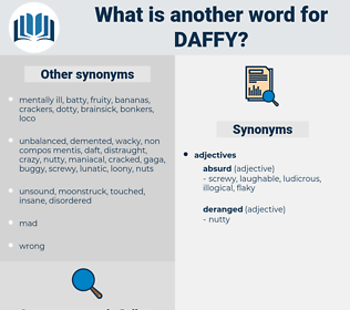 Daffy, synonym Daffy, another word for Daffy, words like Daffy, thesaurus Daffy