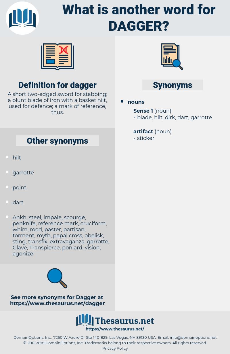dagger, synonym dagger, another word for dagger, words like dagger, thesaurus dagger