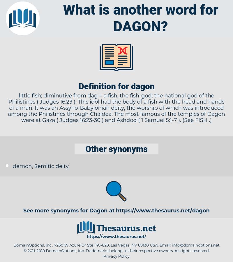 dagon, synonym dagon, another word for dagon, words like dagon, thesaurus dagon