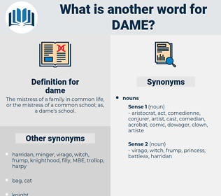 dame, synonym dame, another word for dame, words like dame, thesaurus dame