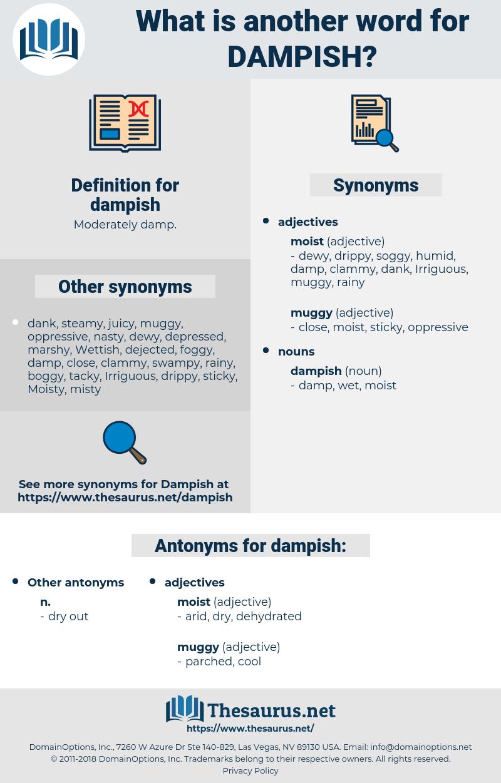 dampish, synonym dampish, another word for dampish, words like dampish, thesaurus dampish