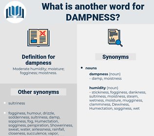 dampness, synonym dampness, another word for dampness, words like dampness, thesaurus dampness