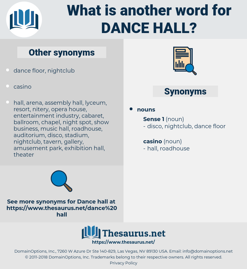 dance hall, synonym dance hall, another word for dance hall, words like dance hall, thesaurus dance hall