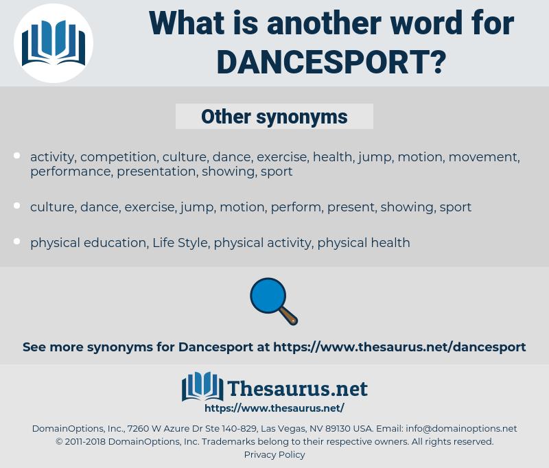 dancesport, synonym dancesport, another word for dancesport, words like dancesport, thesaurus dancesport