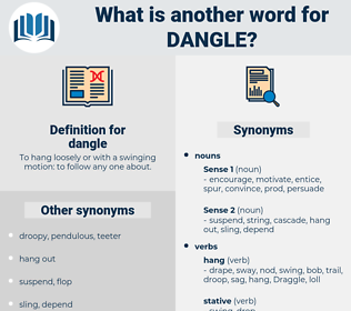 dangle, synonym dangle, another word for dangle, words like dangle, thesaurus dangle