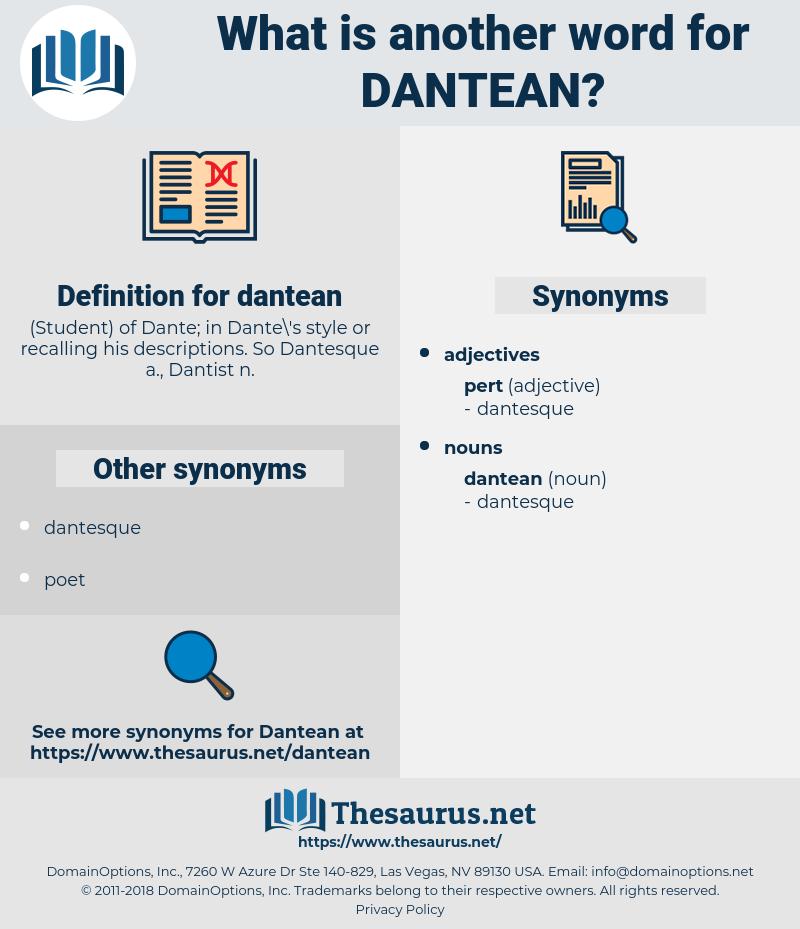 dantean, synonym dantean, another word for dantean, words like dantean, thesaurus dantean