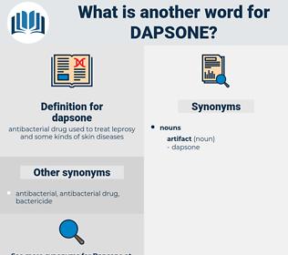 dapsone, synonym dapsone, another word for dapsone, words like dapsone, thesaurus dapsone