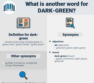 dark-green, synonym dark-green, another word for dark-green, words like dark-green, thesaurus dark-green