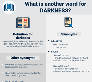 darkness, synonym darkness, another word for darkness, words like darkness, thesaurus darkness