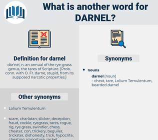 darnel, synonym darnel, another word for darnel, words like darnel, thesaurus darnel